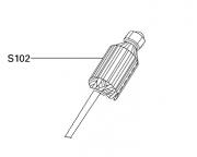 Induzido (Rotor) Máq. de cortar tecidos RC 100 - S102