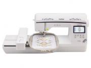 Máquina de Bordar Brother BP1430LDV com área de Bordado de 16 x 26 cm 11 Tipos de Letras e 280 Desenhos na memória
