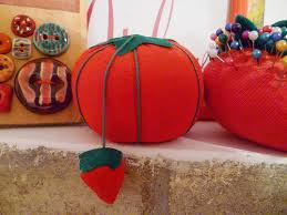 Almofada para Alfinetes - Tomatinho