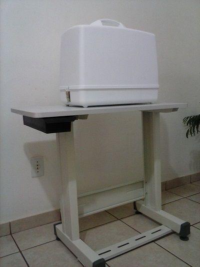 Bancada para máquina de costura