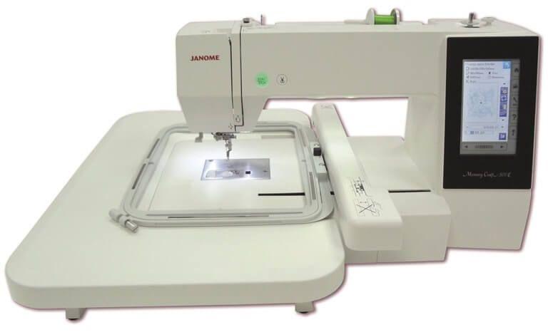 Bastidor 20x28cm RE28B para JANOME MC500E e ELNA 830