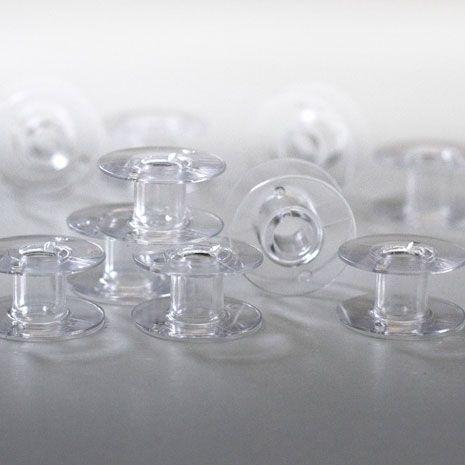 Bobinas transparentes, embalagem com 10 - Original PFAFF