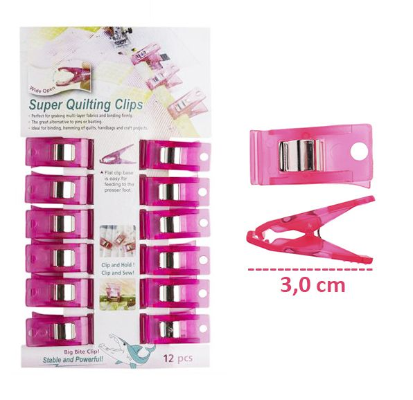 Clips para Quilting e Patchwork - Sew Mate 12UN