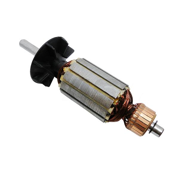 Conjunto Induzido (Rotor) Máq. de cortar tecidos RC 100 - S102 Eixo 9mm