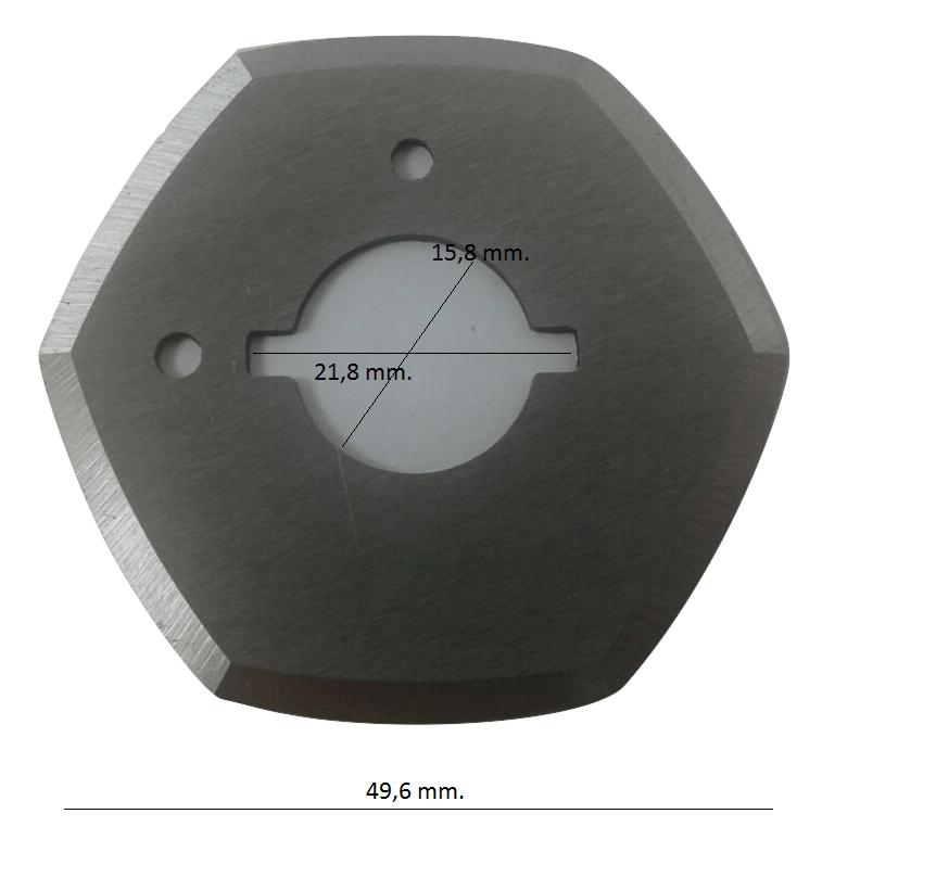 Disco para máquina de cortar Bananinha 2 polegadas
