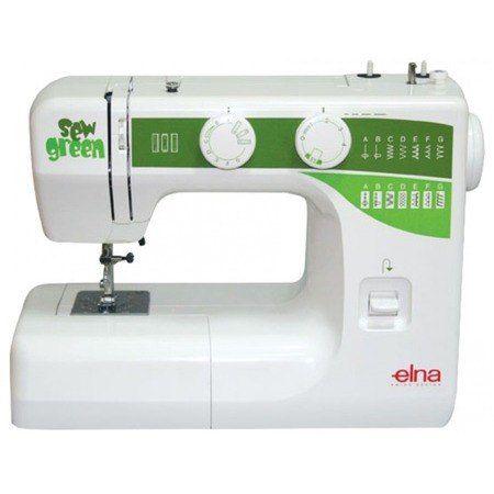 ELNA Sew Green com 15 Pontos de Costura