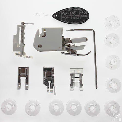 Kit de calcadores para quilting e patchwork