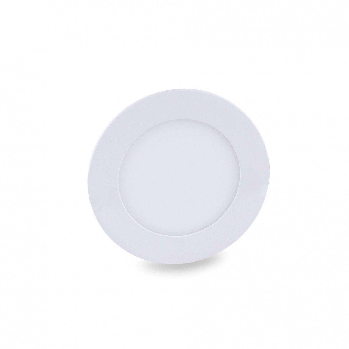 Luminária Led Plafon de Embutir - Luz ( Branco Frio)