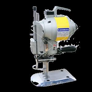 Máquina de Cortar Tecidos LANMAX corte com faca de 5 polegadas e afiador automático