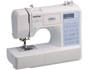 Máquina de costura eletrônica BROTHER CE 5500 com 50 pontos Autovolt - Ideal Quilting e Patchwork