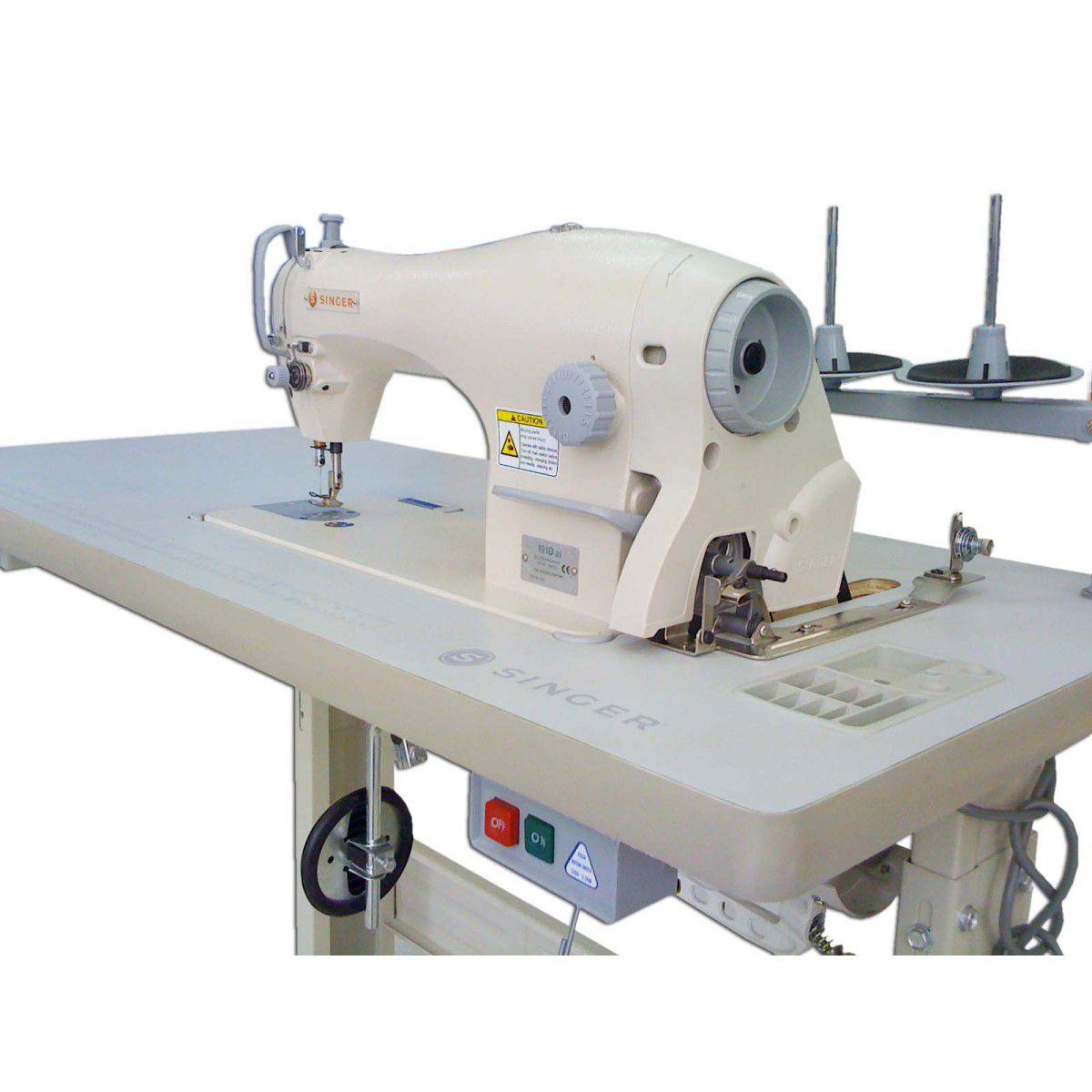 Máquina de Costura Industrial Reta Singer 191D