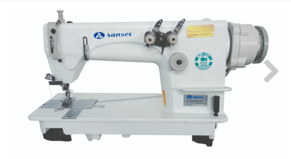 Máquina de costura ponto corrente SANSEI para reforço de camisetas ombro a ombro