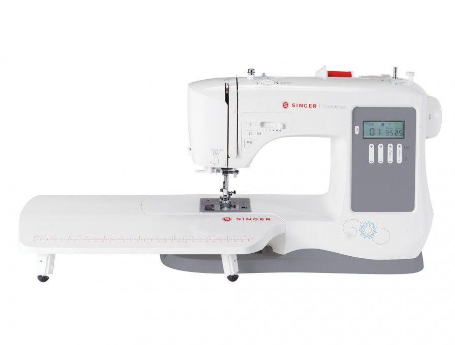 Máquina de Costura SINGER Confidence 7640 bivolt com 131 Pontos