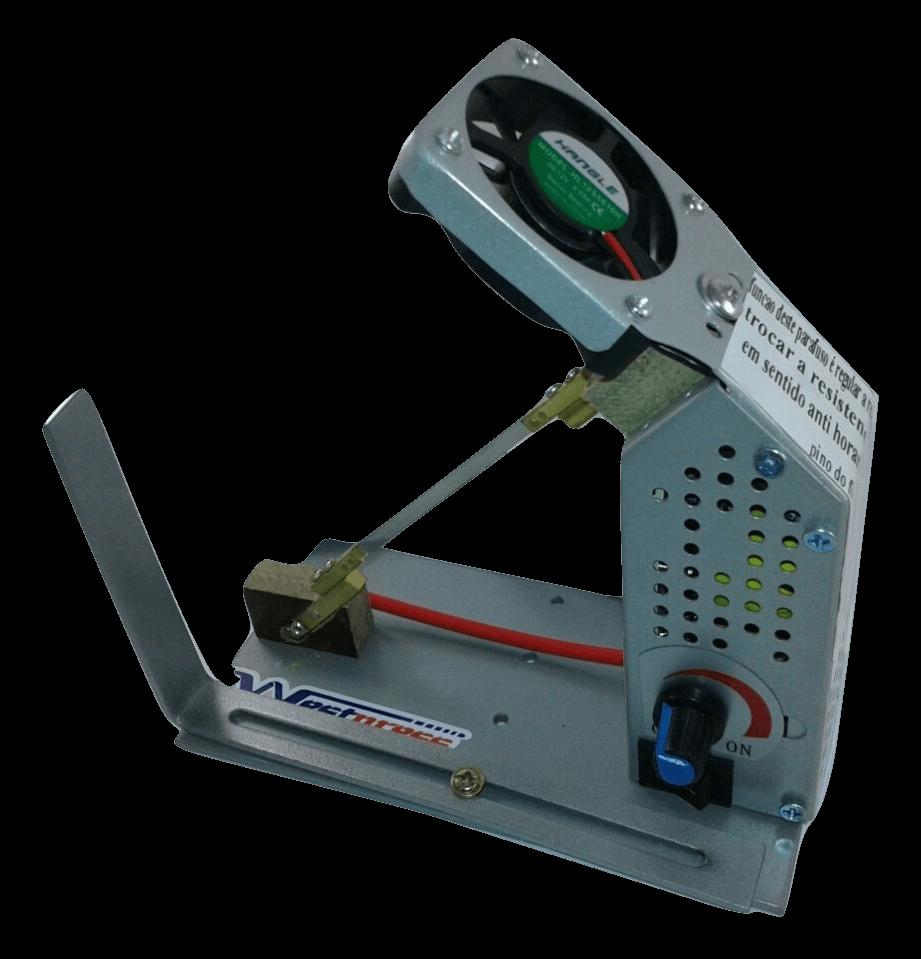 Máquina para Cortar á quente e fazer fuxico - Profissional com Coller