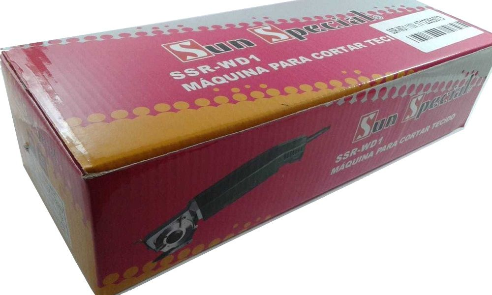 Máquina para Cortar Tecidos com Disco Hexagonal de 2 polegadas Bananinha modelo suprema SSR-WD1