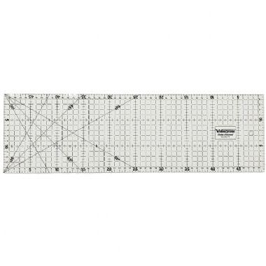 Régua Patchwork  15x50cm com ângulos de 30º, 45º e 60º graus Westpress