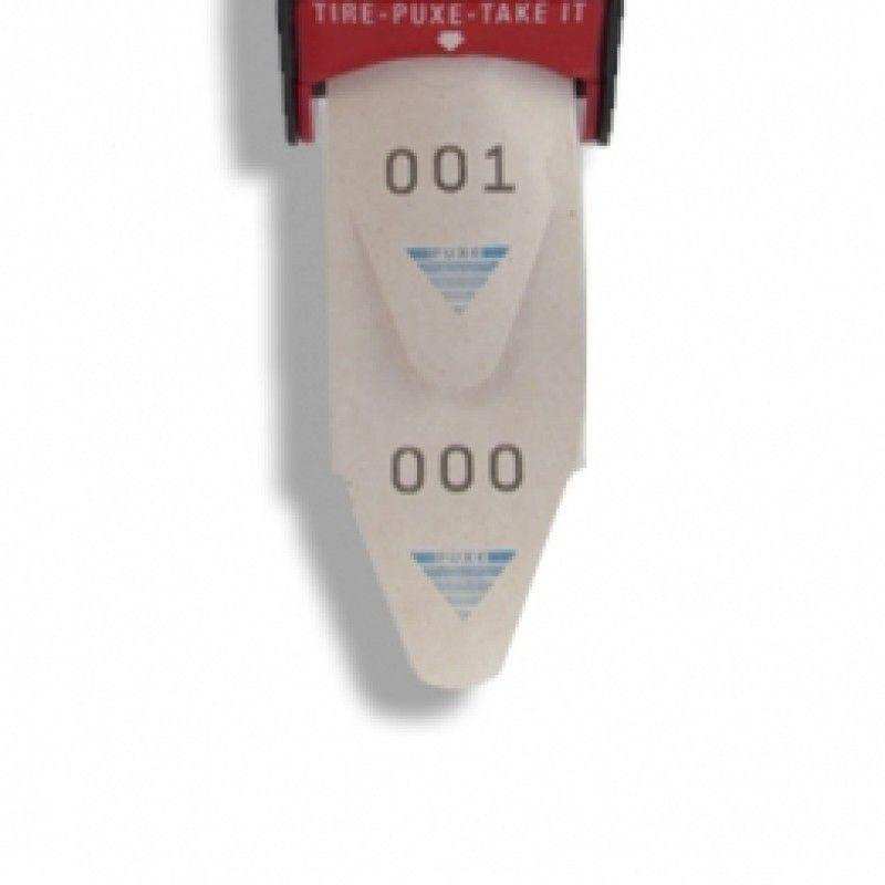 Senhas para Dispensador Bico de Pato - 0 a 999 - pacote com 2000 senhas