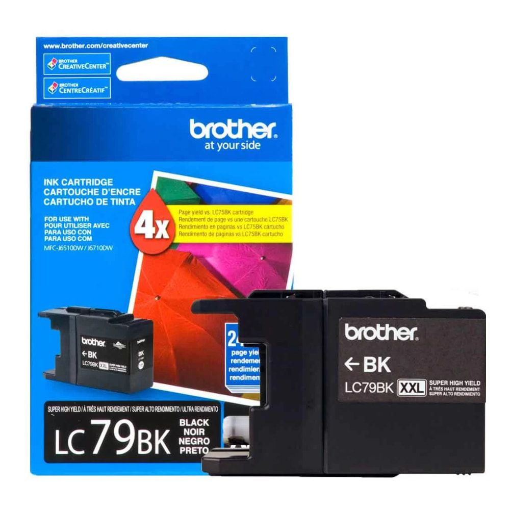CARTUCHO ORIGINAL BROTHER LC79BK PRETO