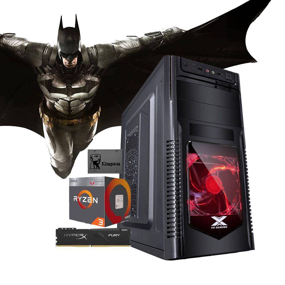 Computador CONCEPT RYZEN R3 3200G, RAM 8GB, HD 1TB  + SSD 120GB