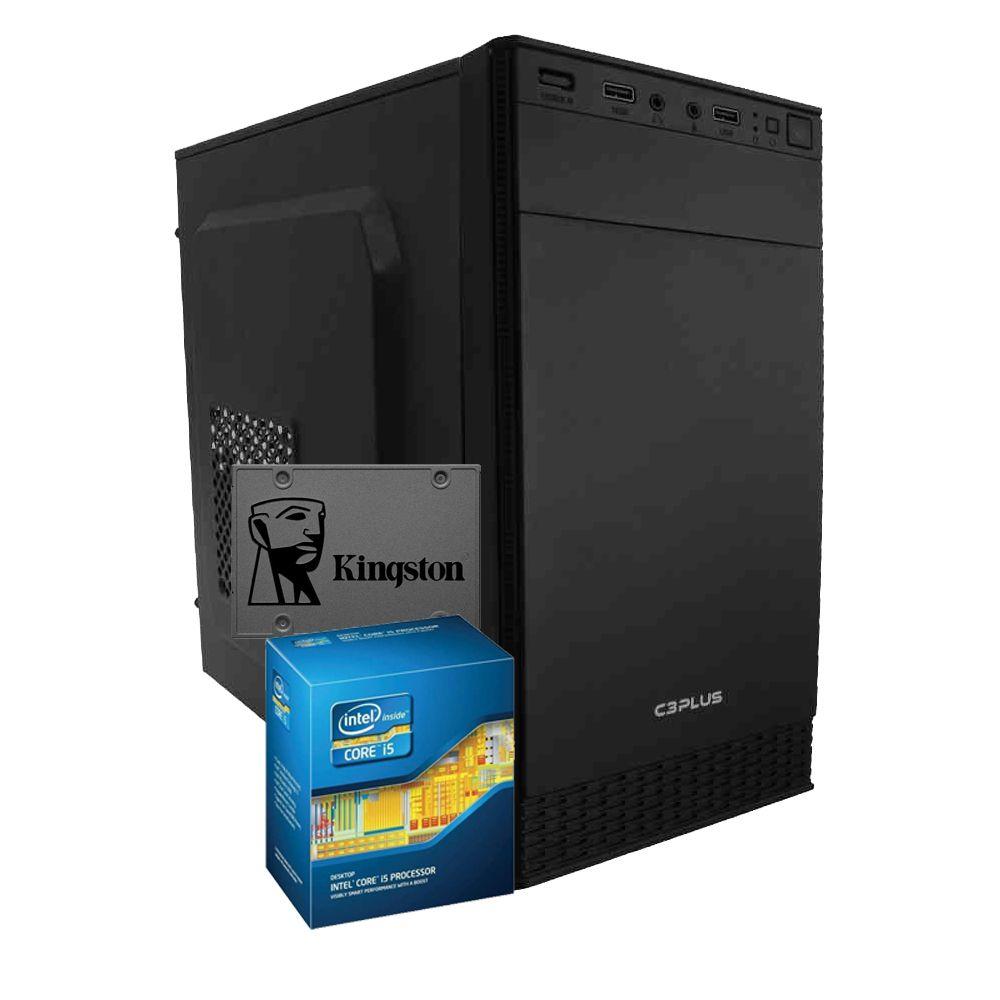 Computador WORK i5-3470, RAM 4GB, SSD 240GB