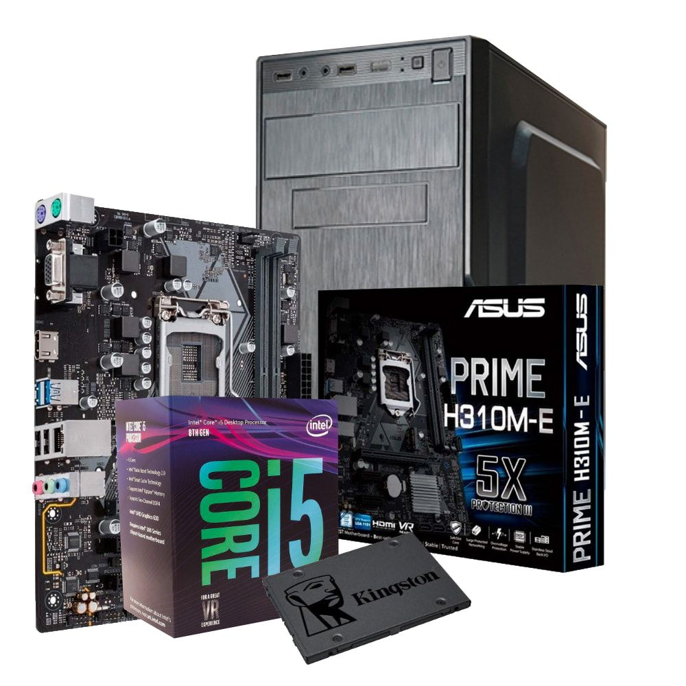 Computador WORK i5-8400 8GB SSD 240GB