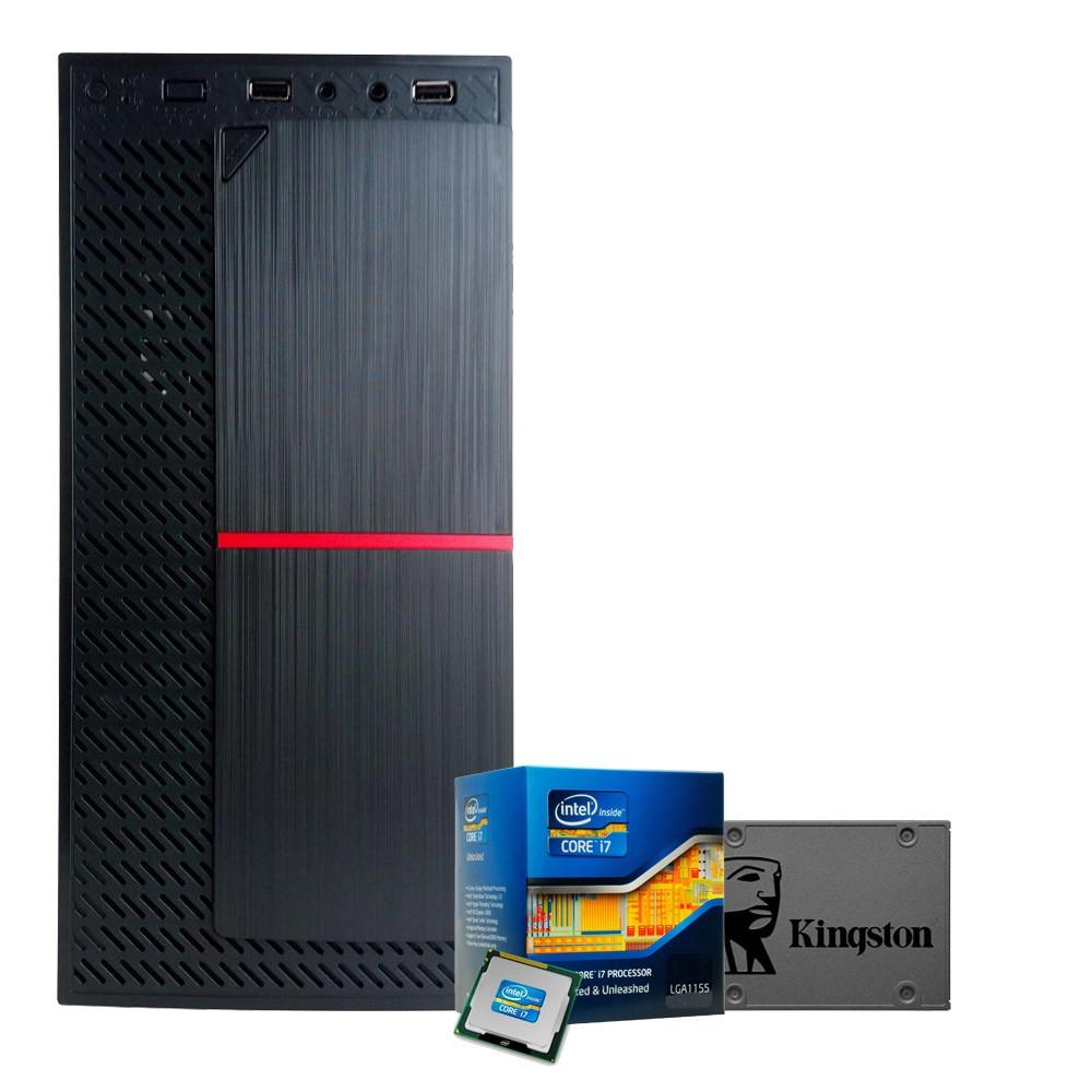 CPU WORK Processador I7 i7-3770 + 8GB + 240GB