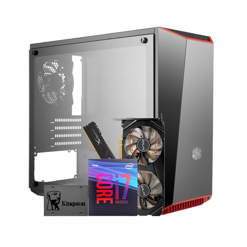 Desktop HIGH  - Processador i7 9700k + Memória Ram 16GB + SSD 480 + GTX 1660 6GB