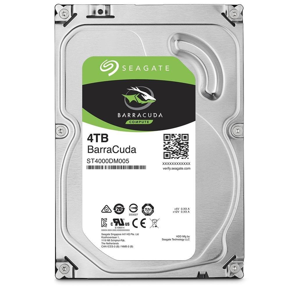 HD INTERNO SEAGATE 4TB BARRACUDA  SATA III 64MB ST4000DM005