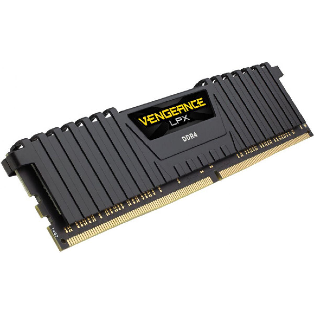MEMORIA DESKTOP CORSAIR VENGANCE 8GB DDR4 3000MHZ CMK8GX4M1D3000C16