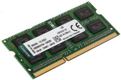 MEMORIA NOTEBOOK KINGSTON 4GB DDR3 1600MHZ KVR16LS11/4 1.35 BAIXA VOLTAGEM