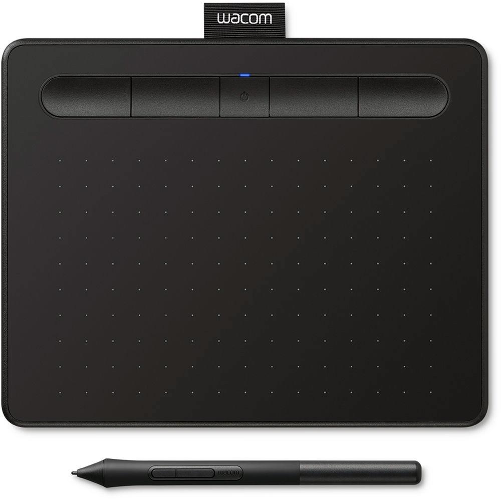 MESA DIGITALIZADORA WACOM CREATIVE  SMALL BLACK CTL4100WLK