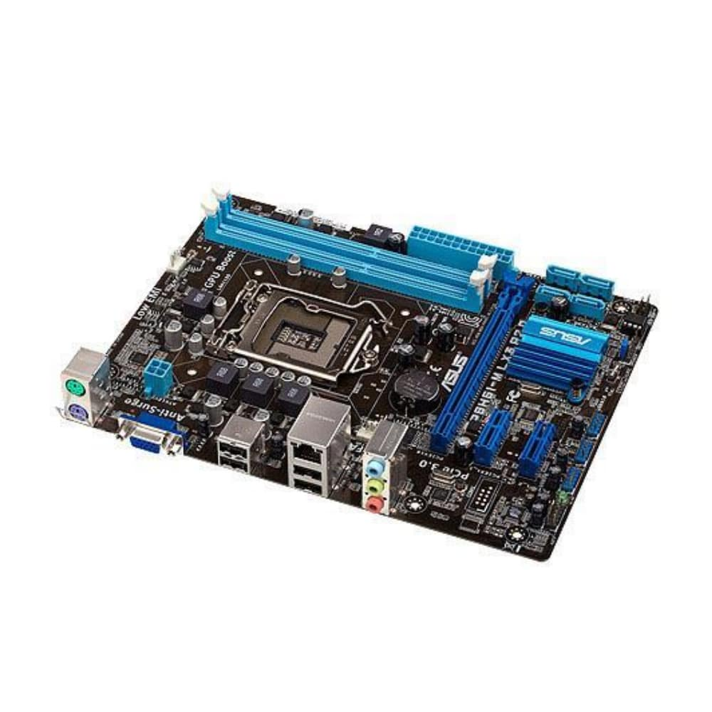 PLACA MAE ASUS P8H61-M LX3 R2.0 (2X DDR3/ 1X VGA/4X USB/ 1X REDE/ 1X AUDIO) OEM