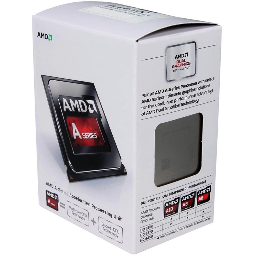 PROCESSADOR AMD A4 6300 FM2 3.9GHZ 1MB