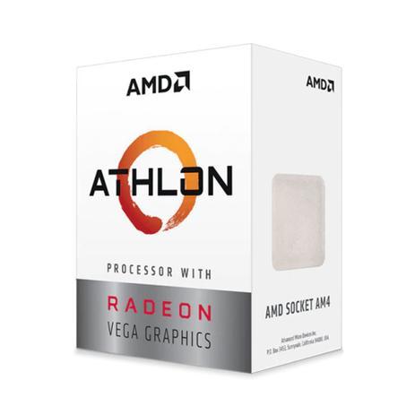 PROCESSADOR AMD ATHLON 3000G 3.5GHZ AM4 RADEON VEGA 3