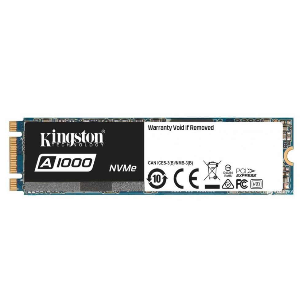 SSD KINGSTON M.2 2280 240G SA1000M8/240G  PCIE NVME GER 3.0 X2