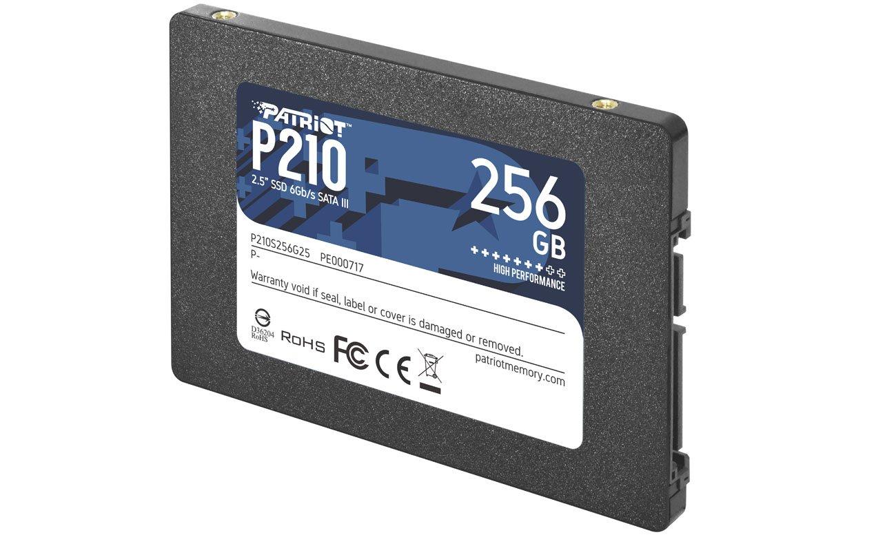 SSD PATRIOT 256G 2.5 SATA III  P210S256G25