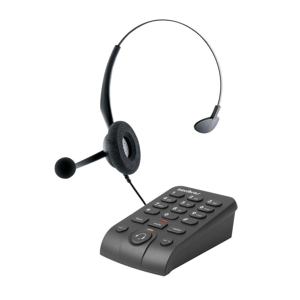 TELEFONE HEADSET INTELBRAS HSB50 EMBORRACHADO ICON 4013330