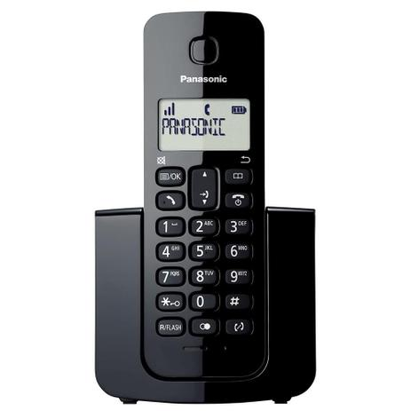 TELEFONE PANASONIC S/ FIO KX-TGB110LBB