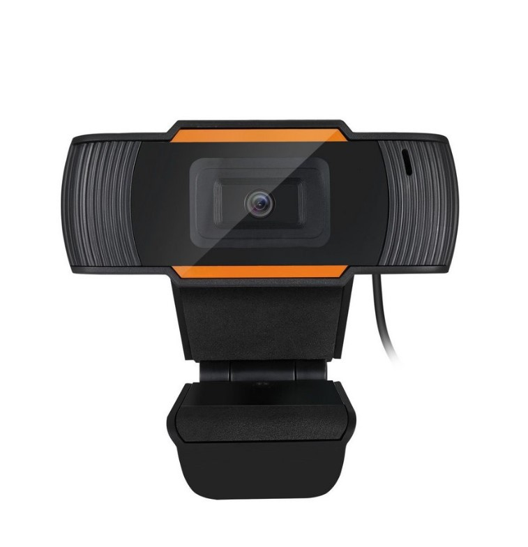 WEBCAM BRAZILPC V5 HD 720P PRETO/LARANJA