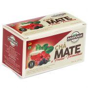 Chá Mate e Frutas vermelhas
