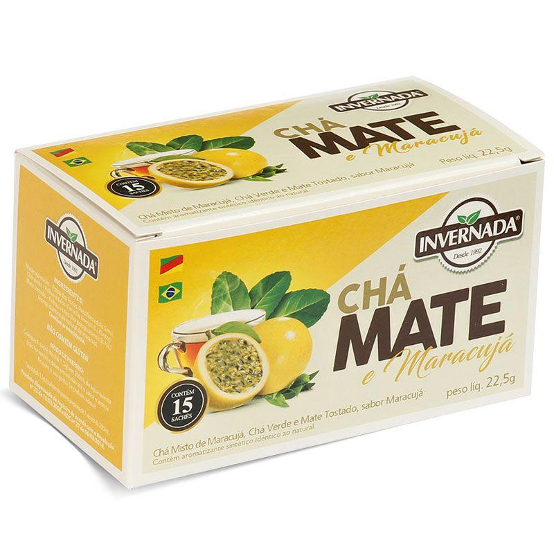 Chá Mate e Maracujá