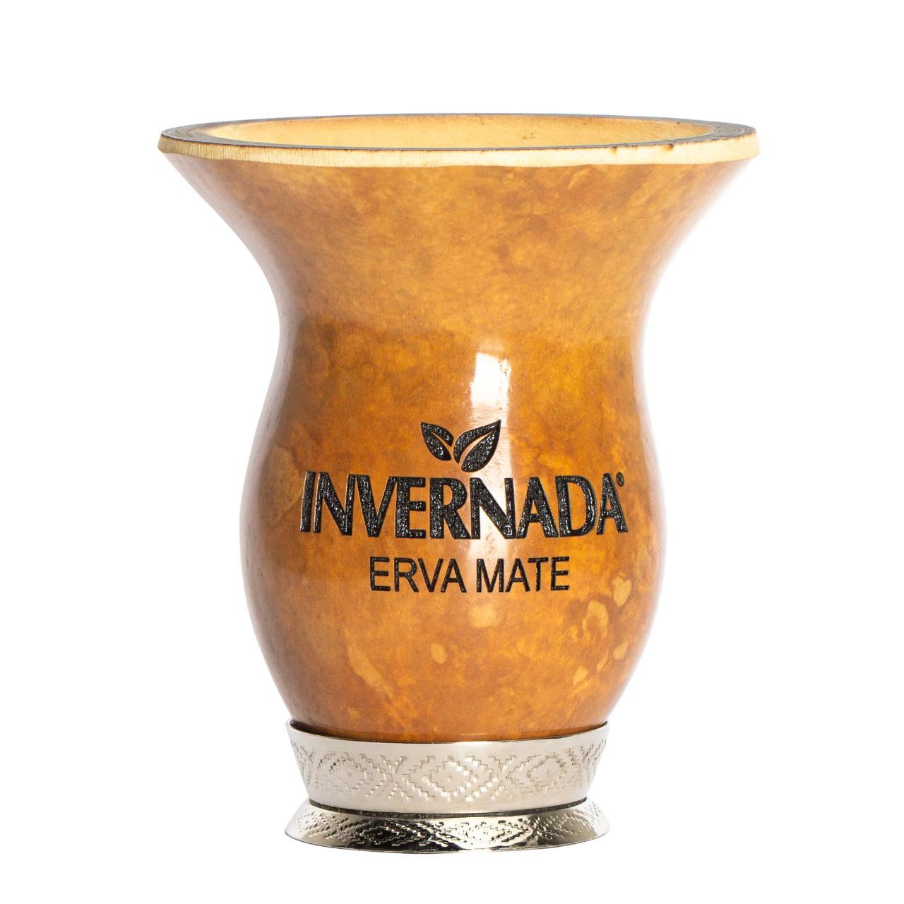 Cuia Porongo + Bomba Inox Invernada