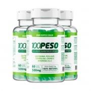 100PESO - Tratamento para 90 dias - 3 Frascos com 60 caps cada