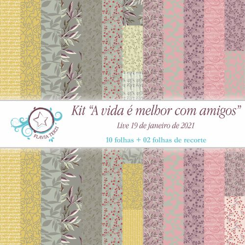 A VIDA É MELHOR COM AMIGOS - Live 19/01/2021