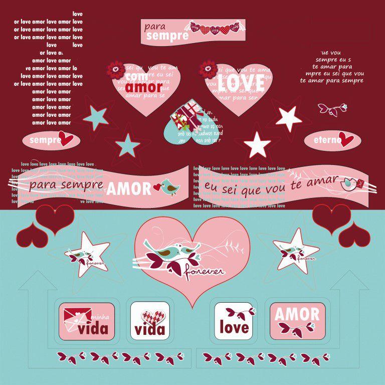 Coleção Amor Pássaros