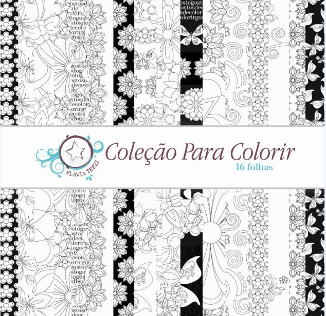 Coleção Para Colorir