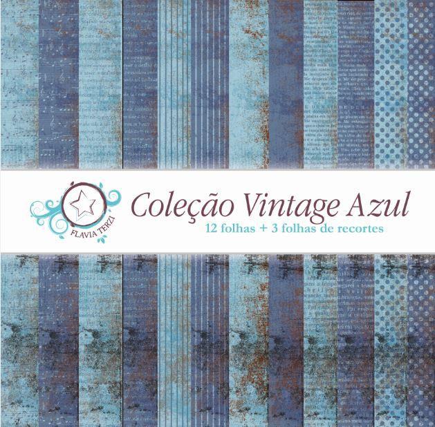 Coleção Vintage Azul