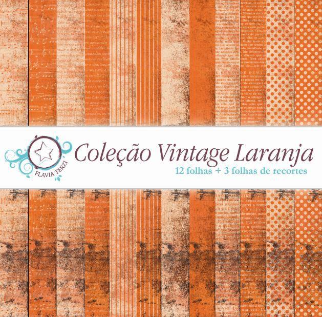 Coleção Vintage Laranja
