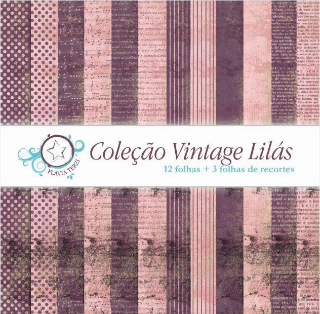 Coleção Vintage Lilás