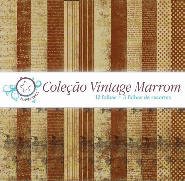 Coleção Vintage Marrom